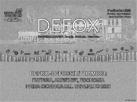 DEFOX 2021, DE-FOSSILIZZIAMOCI: Energia, Ambiente, Economia