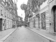 Milano, via Montenapoleone